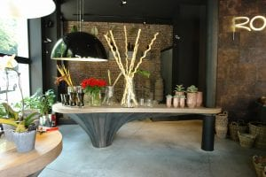 Interieur bloemenwinkel Brussel 2
