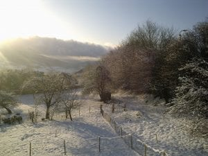 In wintertime...