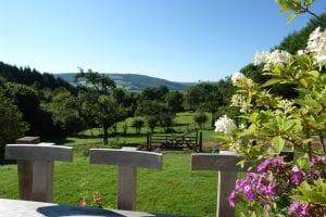 A terrace view