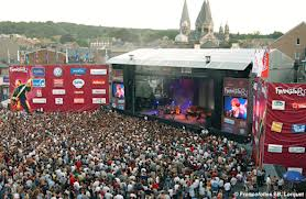 Francofolies in Spa, the musicfestival of Wallone